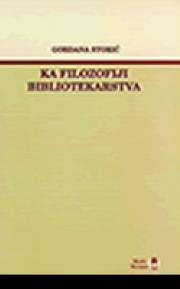 Ka filozofiji bibliotekarstva: Džesi Šir u teoriji i praksi bibliotekarstva 20. veka